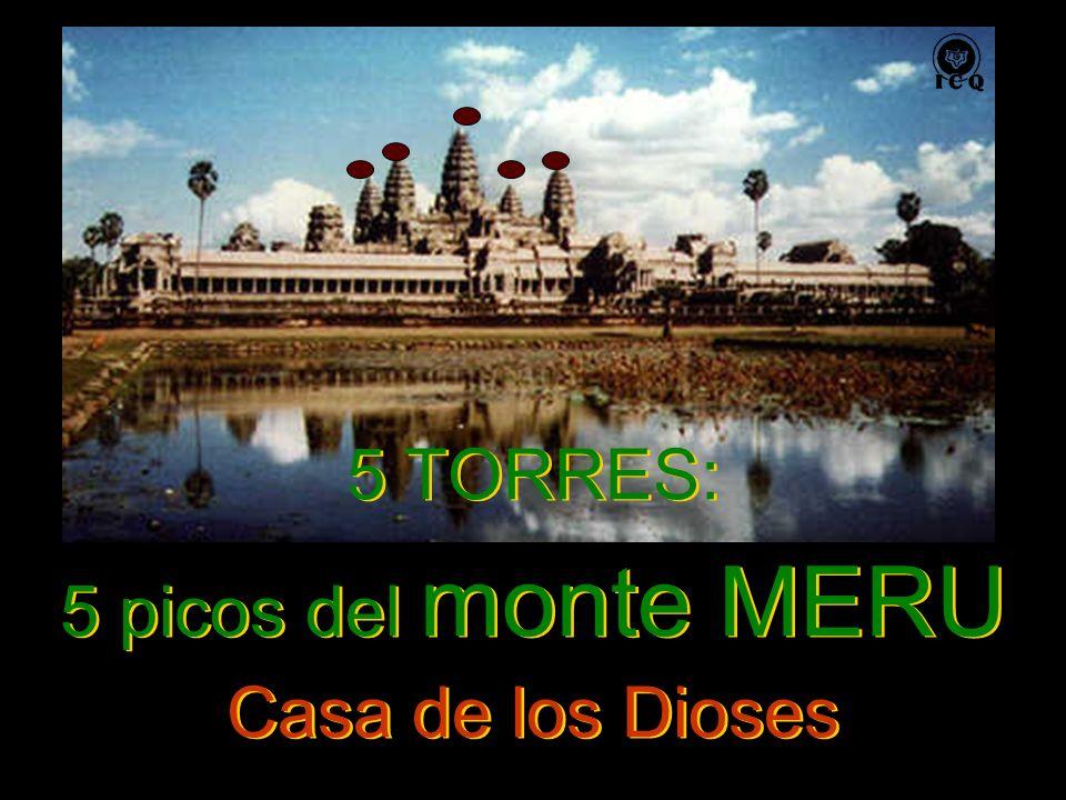 5 TORRES: 5 picos del monte MERU Casa de los Dioses 5 TORRES: 5 picos del monte MERU Casa de los Dioses