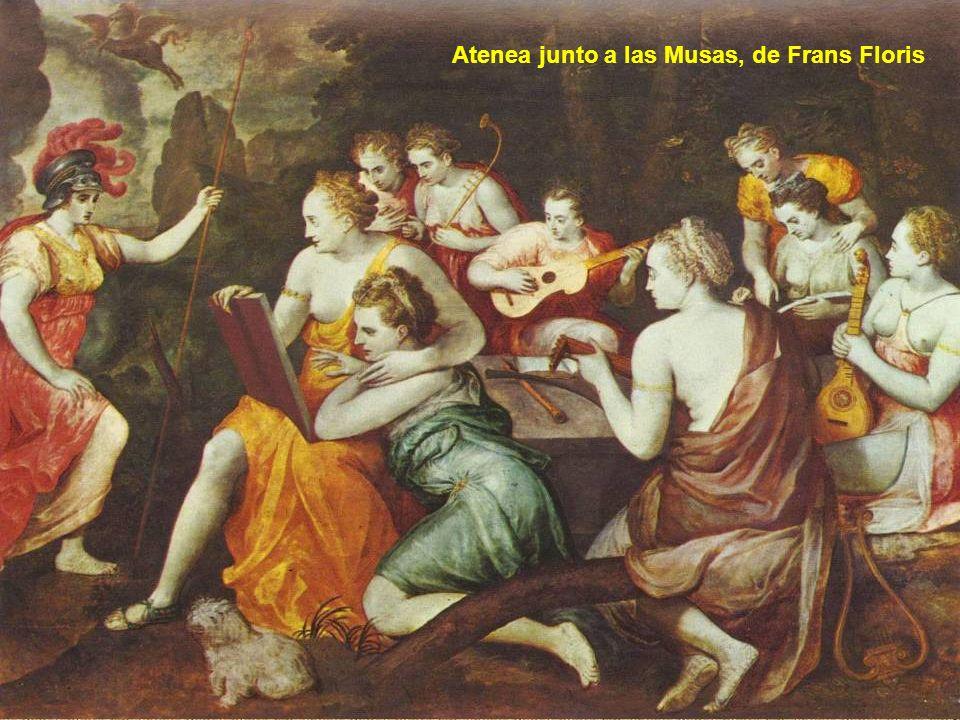 17 Castidad Pulcritud Voluntad Cupido Mercurio Flora Venus Cloris Céfiro Talía: Eufrosine: Áglae: