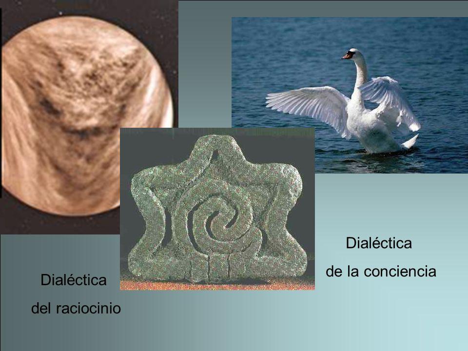 Dialéctica del raciocinio Dialéctica de la conciencia