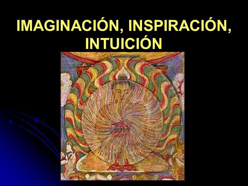 IMAGINACIÓN, INSPIRACIÓN, INTUICIÓN