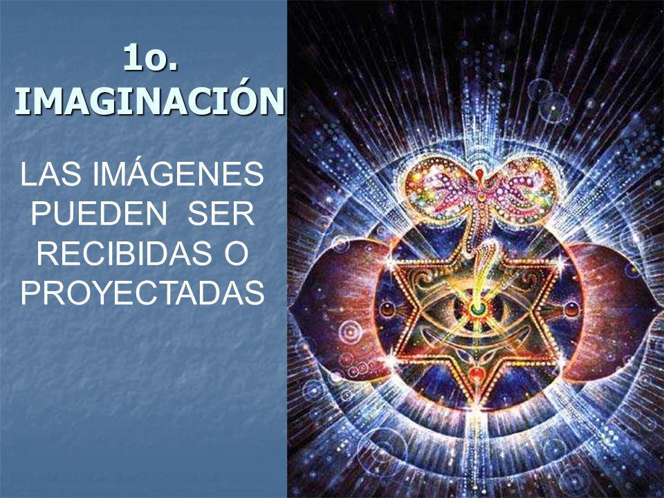 1o. IMAGINACIÓN LAS IMÁGENES PUEDEN SER RECIBIDAS O PROYECTADAS
