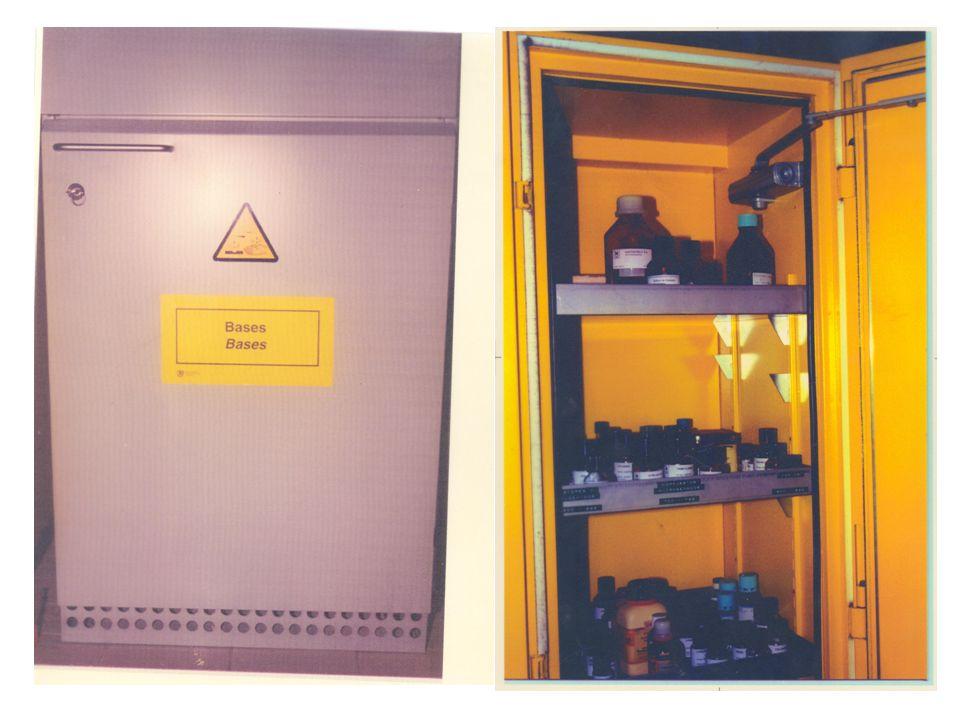 Frigoríficos o neveras Los frigorífico en los laboratorios son un factor de riesgo importante principalmente para los riscos de: Incendio Explosión/deflagración