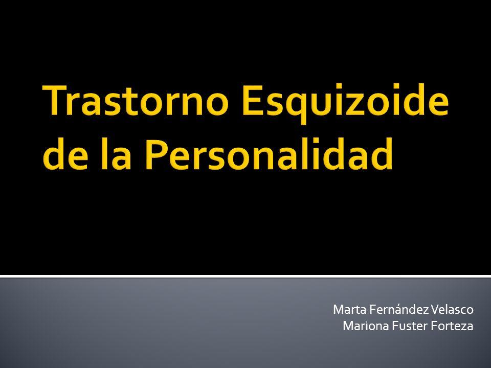 Marta Fernández Velasco Mariona Fuster Forteza
