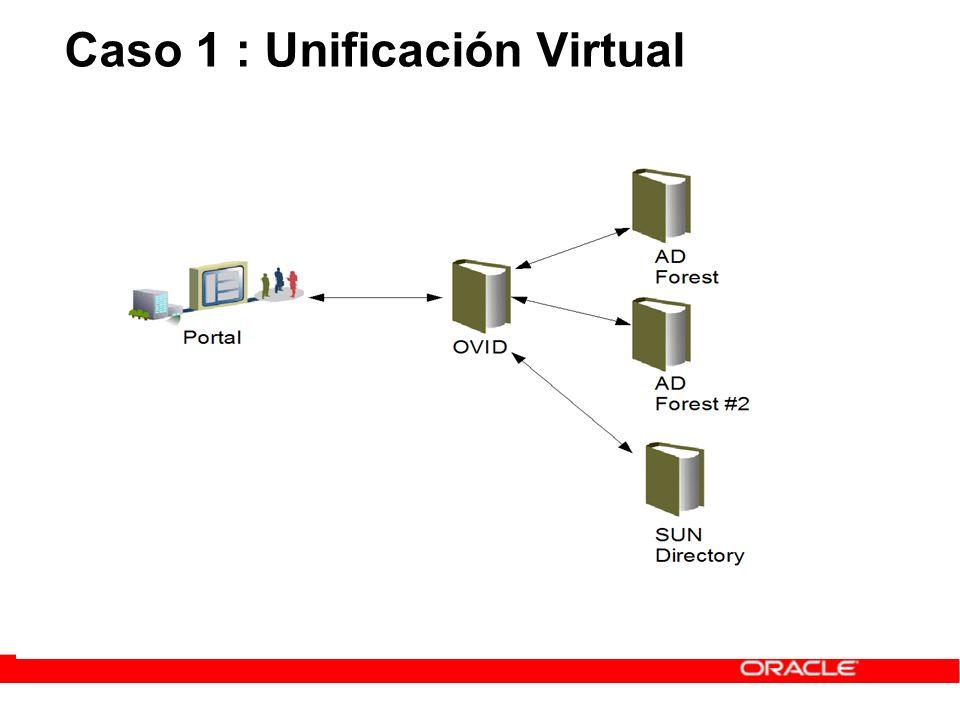 Fuente: Oracle.com Clientes de Oracle en Gestión de Identidades Algunas Referencias de Ejemplo Industria y Transporte Servicios Financieros/Seguros Gobierno y Sector Público Retail y Servicios Sanidad Tecnología y Comunicaciones