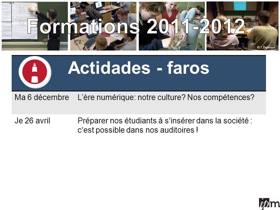 Actidades - faros Ma 6 décembreLère numérique: notre culture.