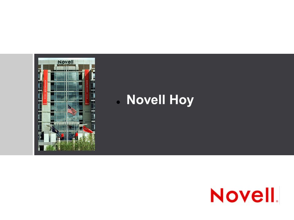 © Novell, Inc.4 Novell, Inc.