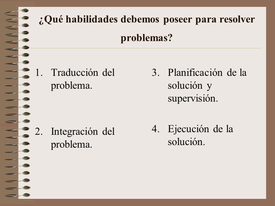 ¿QUÉ NECESITAMOS SABER PARA RESOLVER PROBLEMAS MATEMÁTICOS? Conocimiento lingüístico Conocimiento semántico Conocimiento esquemático Conocimiento estr