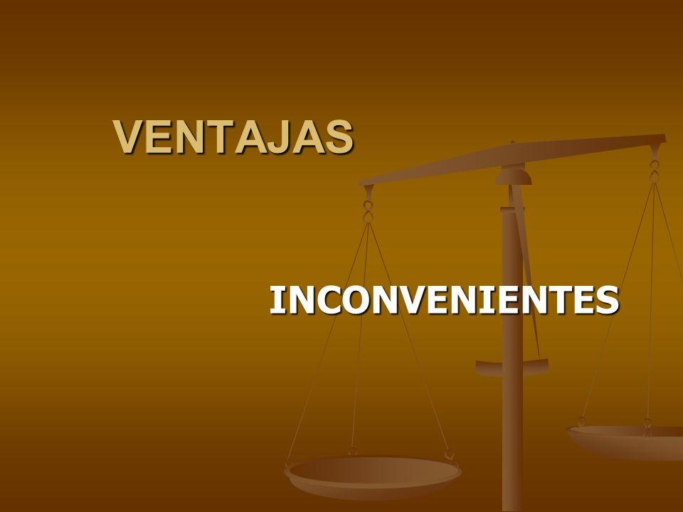 VENTAJAS Promueve el papel activo del alumno.Promueve el papel activo del alumno.