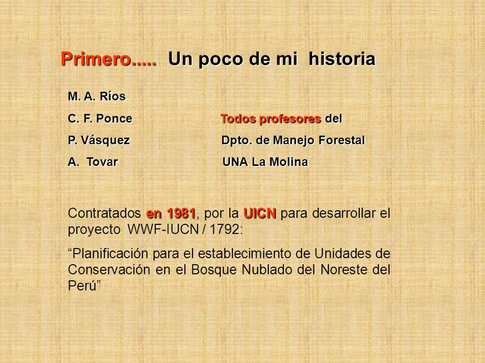 Gracias !!!! Manuel A. Ríos www.manuelrios.net mar@lamolina.edu.pe
