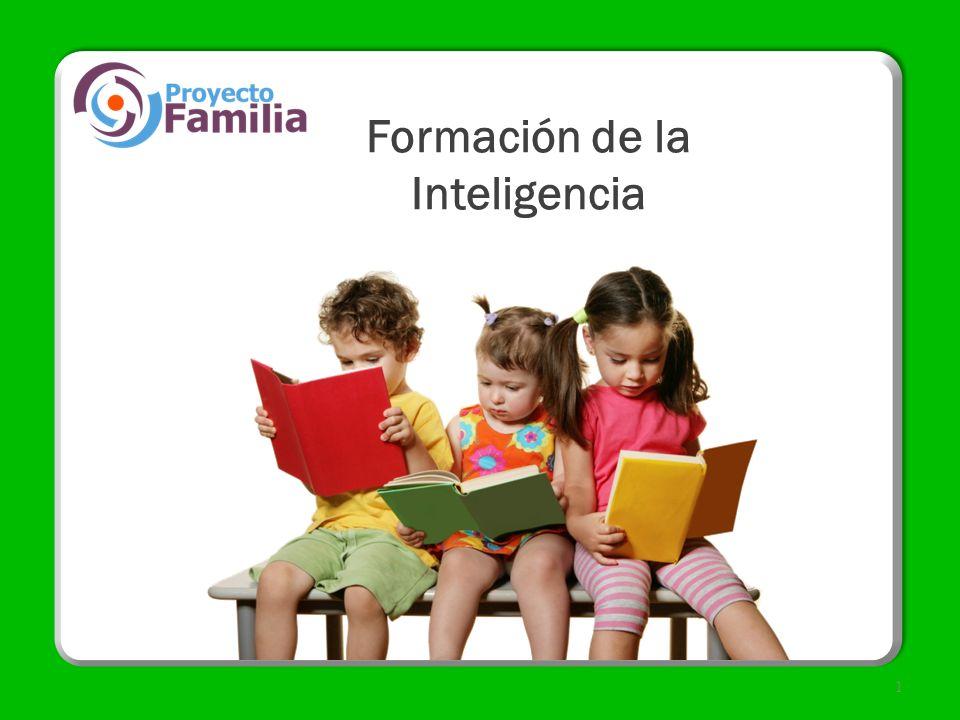 Formación de la Inteligencia 1