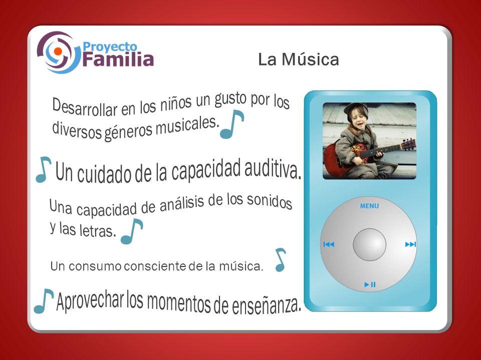 La Música Un consumo consciente de la música.