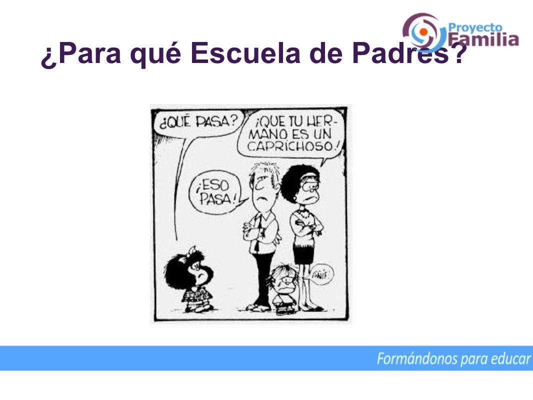 ¿Para qué Escuela de Padres? Colaboración desde el Cono Sur del P. José Ignacio Martín, L. C.