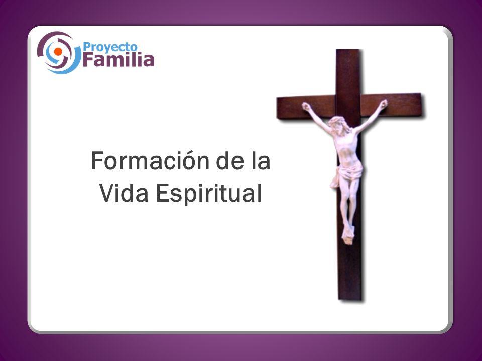 Formación de la Vida Espiritual
