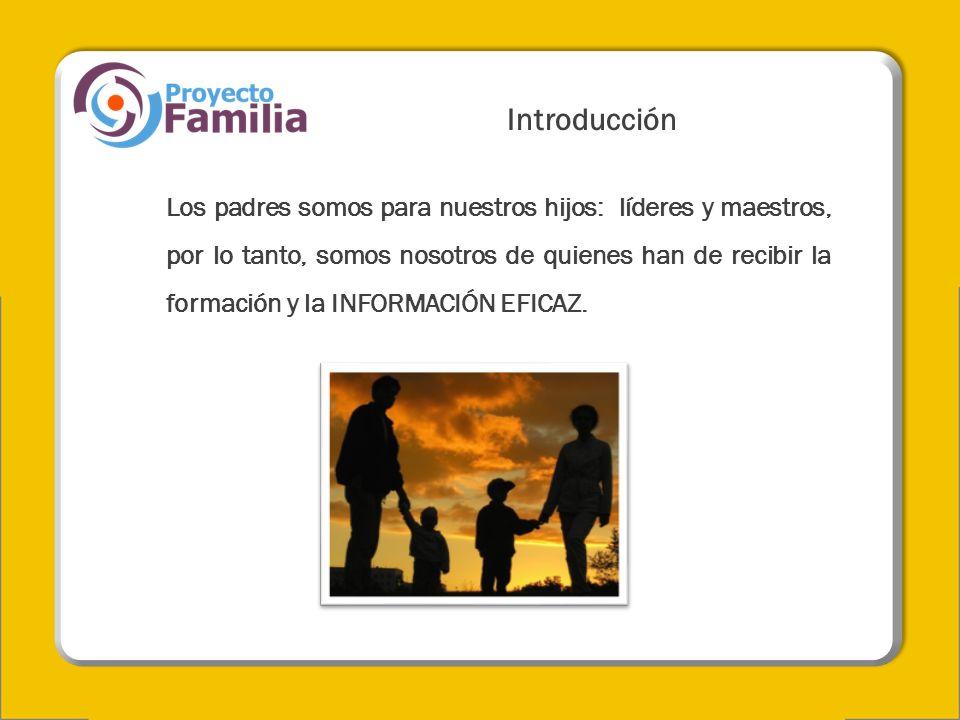 Drogadicción y Alcoholismo Cuando termina la inocencia de los hijos, comienza la inocencia de los papás.