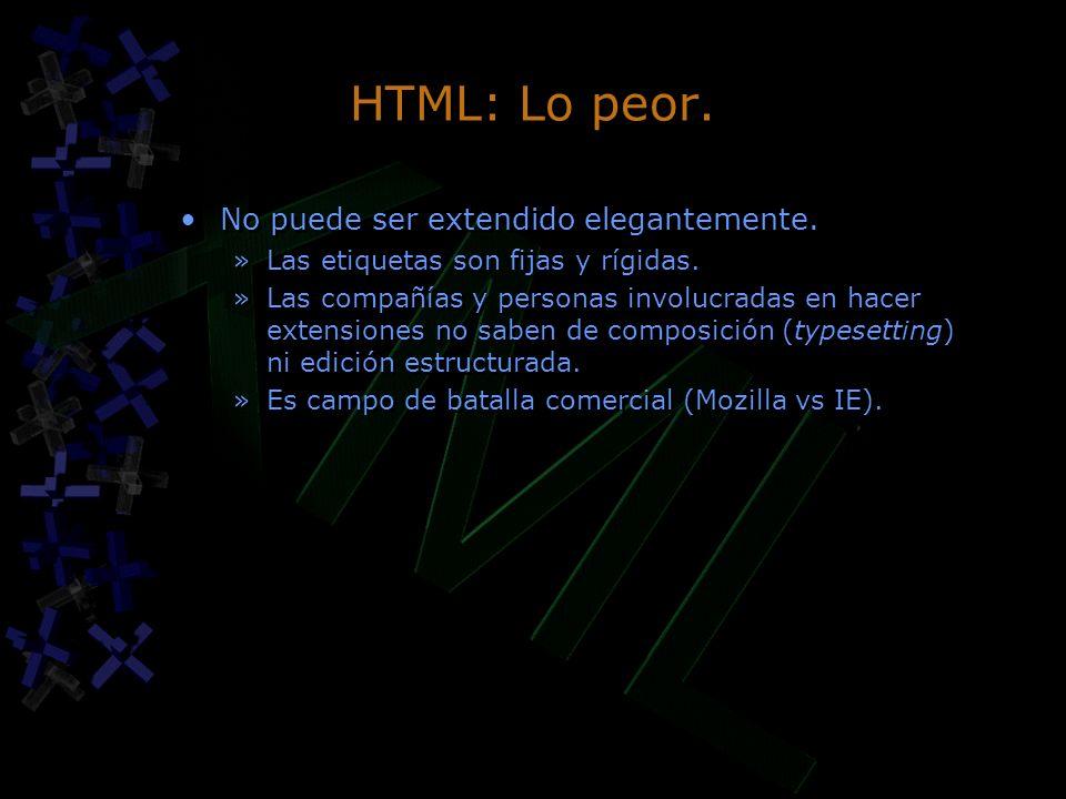 HTML: Lo nuevo.Las hojas de estilo en cascada (cascading style sheets, CSS).