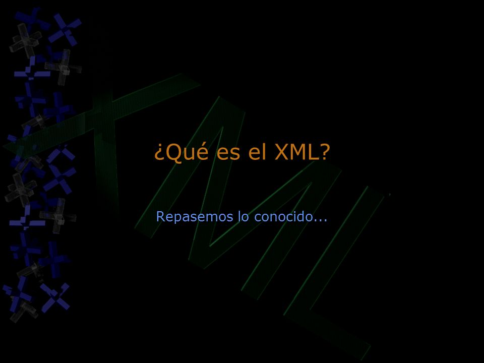 Ejercicio: Islas XML.Crear una página HTML con una isla XML.