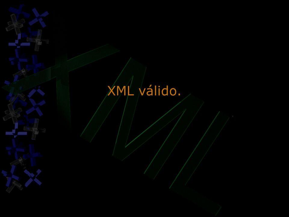 XML válido.