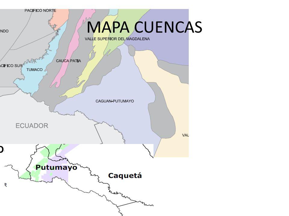 MAPA CUENCAS