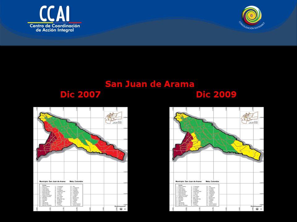 San Juan de Arama Dic 2007Dic 2009