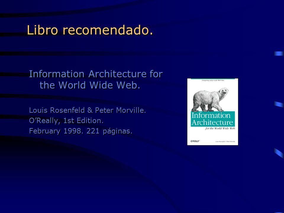Agenda.¿Qué hace funcionar un sitio (mal). ¿Qué es la arquitectura de la información.