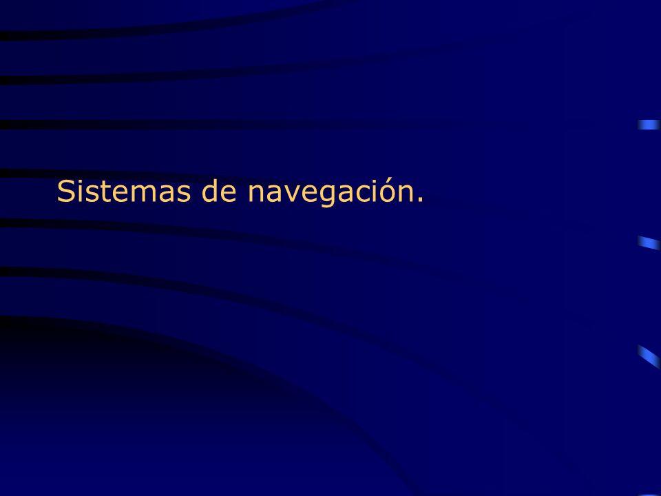 Sistemas de navegación.