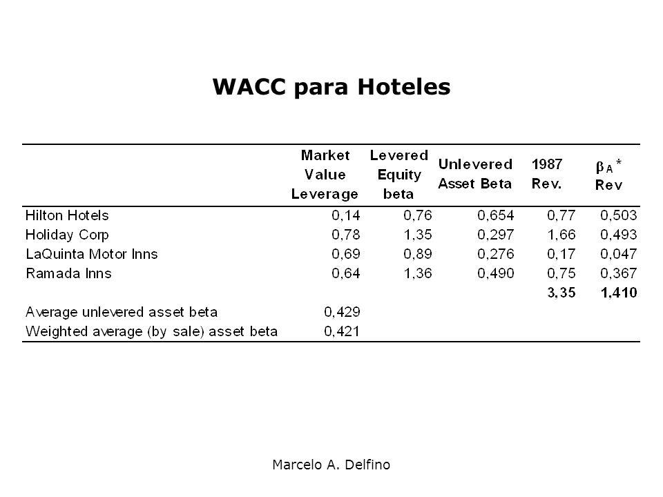 Marcelo A. Delfino WACC para Hoteles