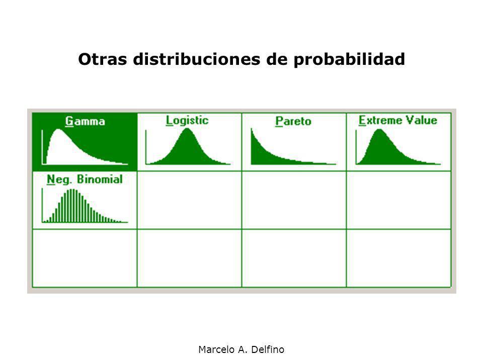 Marcelo A. Delfino Otras distribuciones de probabilidad