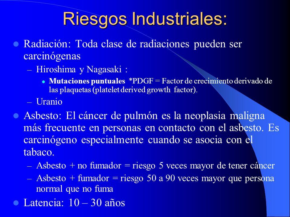 CLASIFICACION HISTOLOGICA DEL CARCINOMA BRONCOGENICO (O.M.S.) ICarcinoma Epidermoide 25 - 40% IIAdenocarcinoma25 - 40% IIICa. de Células Pequeñas20 -