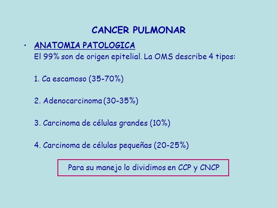 CANCER PULMONAR DIAGNOSTICO Presentación clínica (Med Clin(Barc) 1982; 79: 441-444)