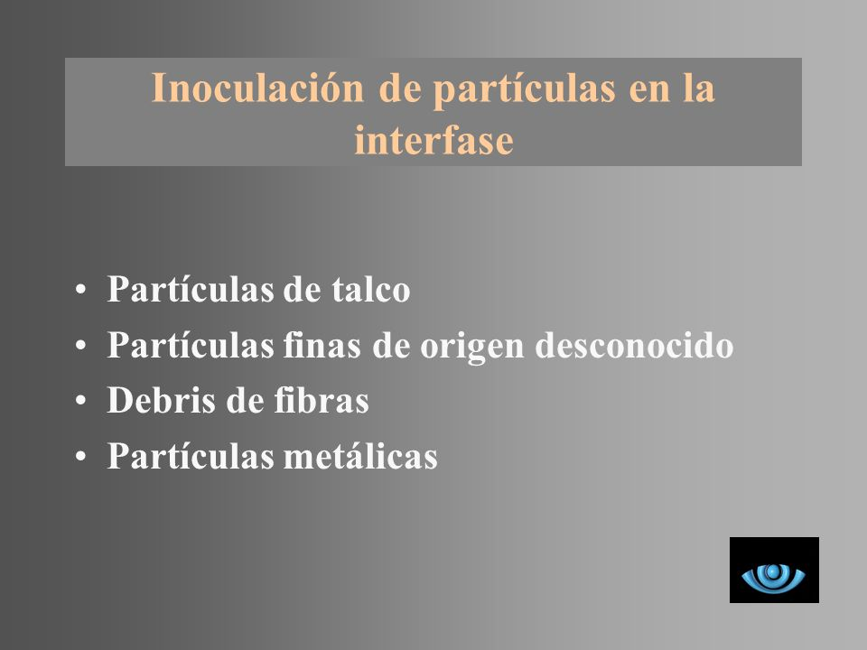 Partículas en interfase