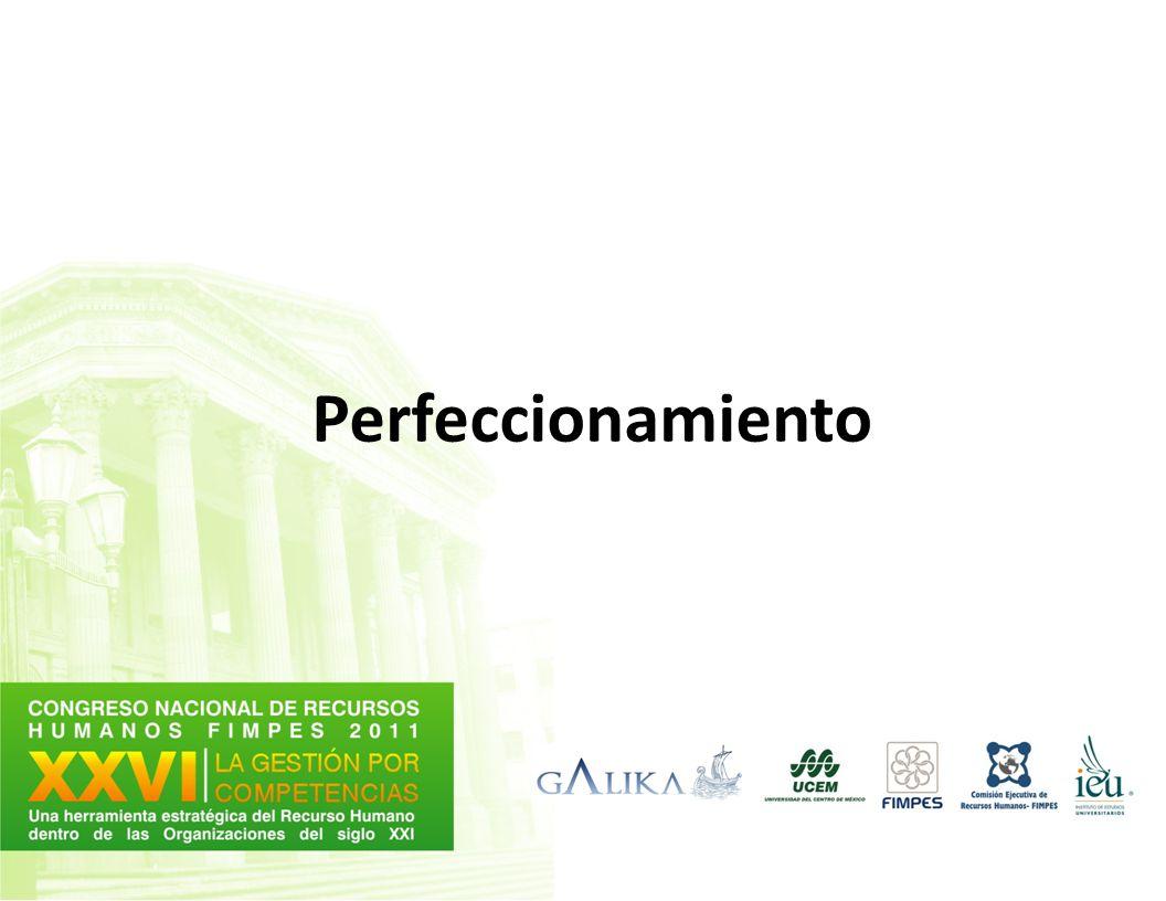 Perfeccionamiento