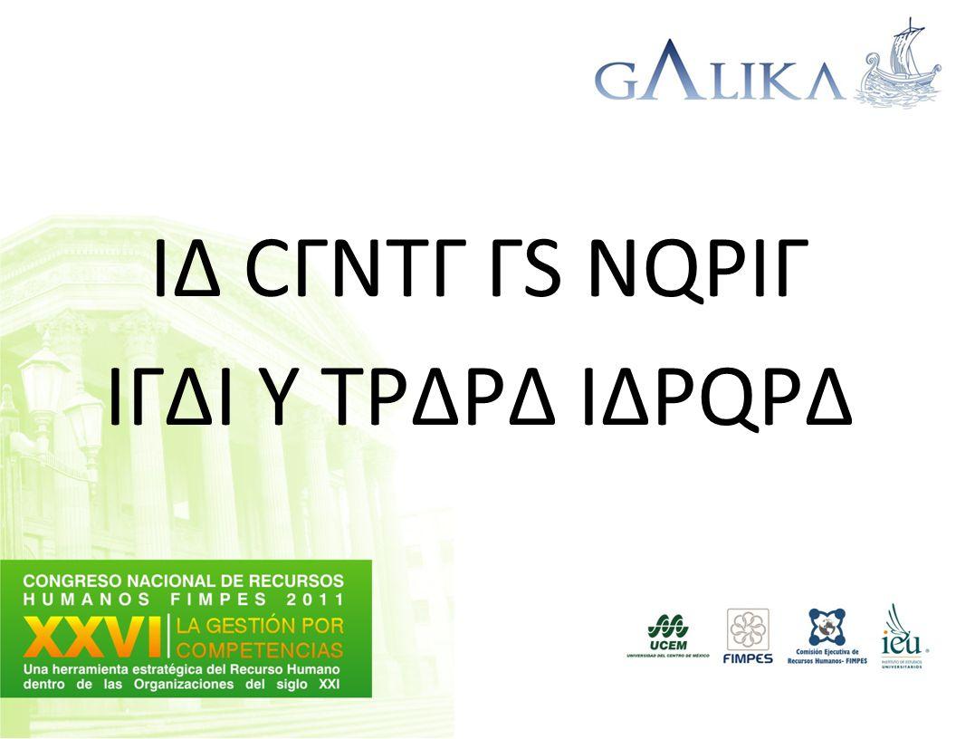 IΔ CΓNTΓ ΓS NQPIΓ IΓΔI Y TPΔPΔ IΔPQPΔ