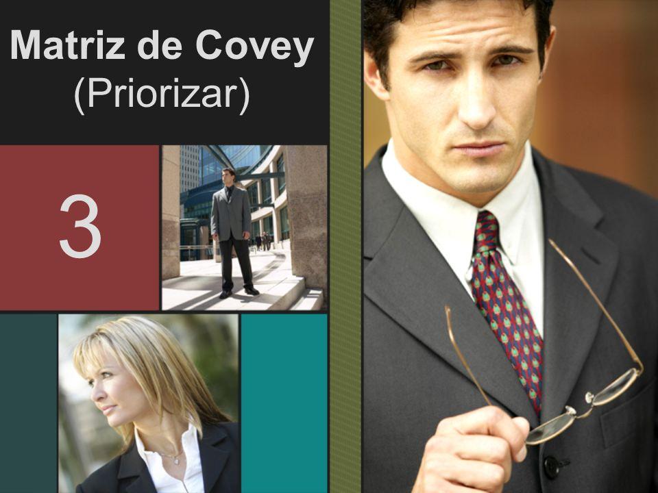 Matriz de Covey (Priorizar) 3
