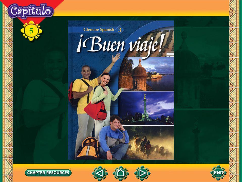 5 Vocabulario (English-Spanish) el cactocactus el desiertodesert la flor silvestrewildflower el guacamayo macaw el jaguarjaguar la caza hunt la deforestación deforestation la fauna fauna