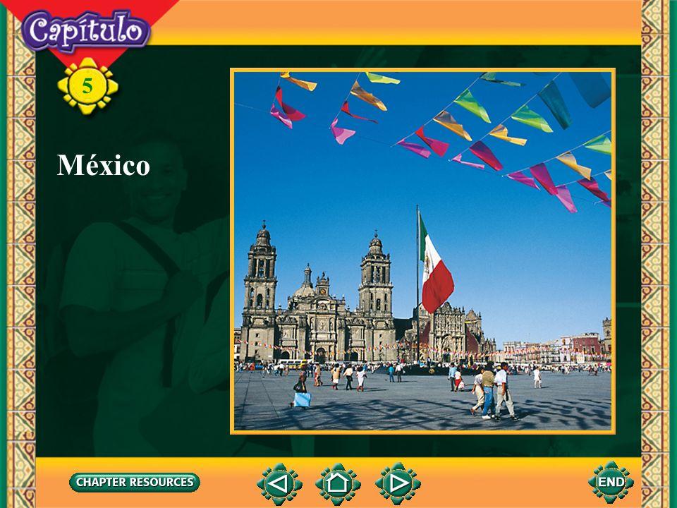 5 Subjuntivo en cláusulas relativas Lección 3 Conozco a una persona que visita México con frecuencia.