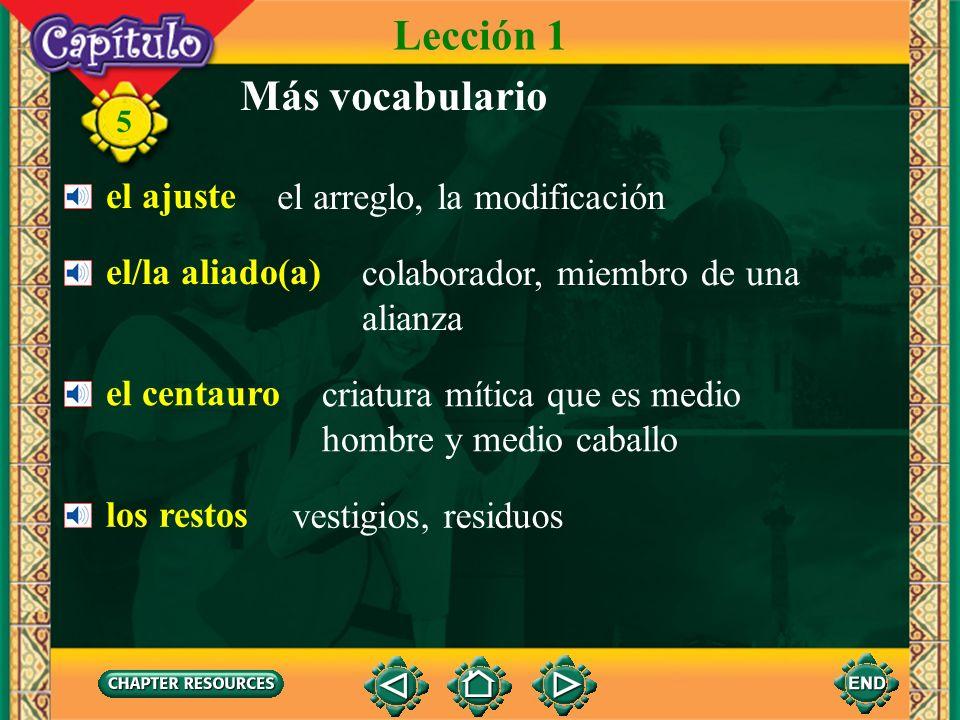 5 Colocación de los pronombres de complemento Lección 2 With the infinitive Él quiere explicarte el problema.