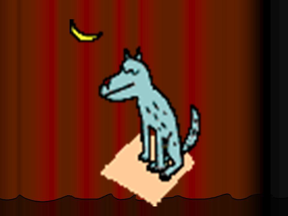 Había una vez un lobo.Había una vez un lobo. Tenía una voz ronca (hoarse).
