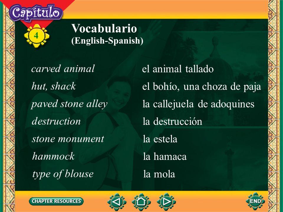 4 Vocabulario encontrar (ue)to find (Spanish-English) extraviarseto get lost, go astray rechazarto reject, resist rogar (ue)to beg, plead Amigos con «