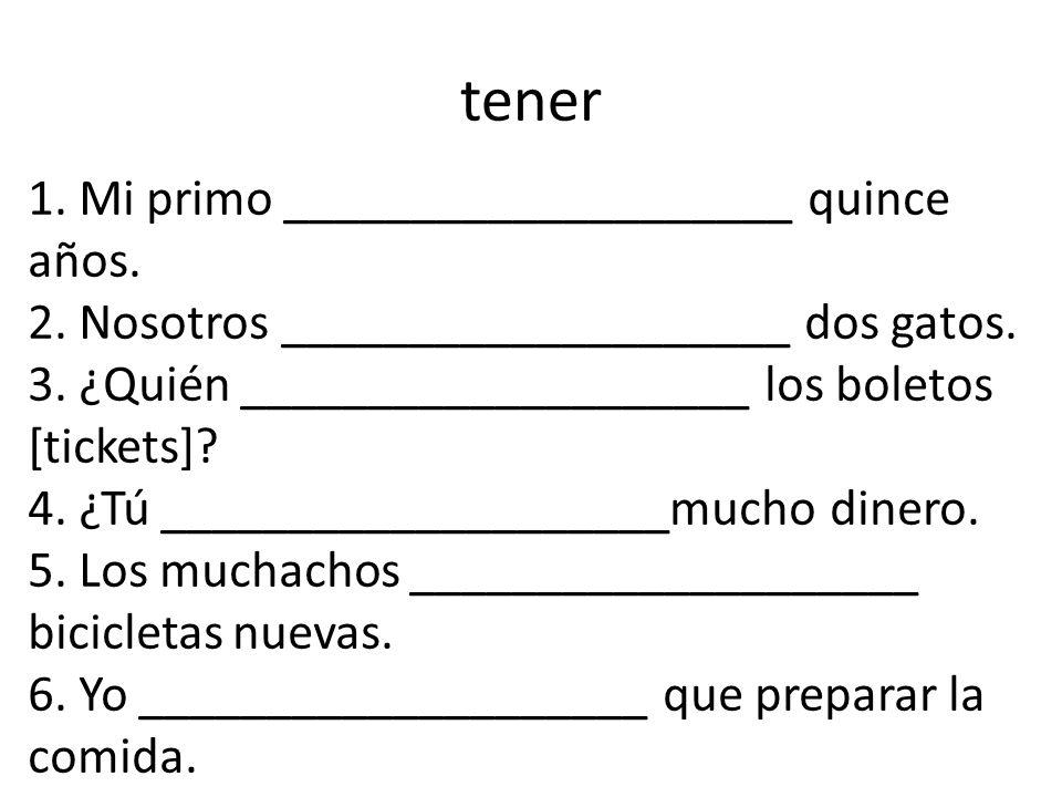 Traer = to bring It is only irregular in the yo form traigo traes trae traemos traéis traen