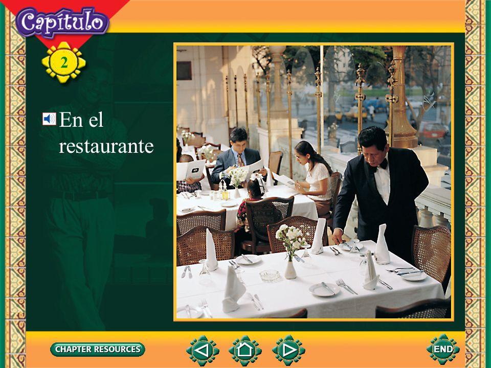 2 En el restaurante