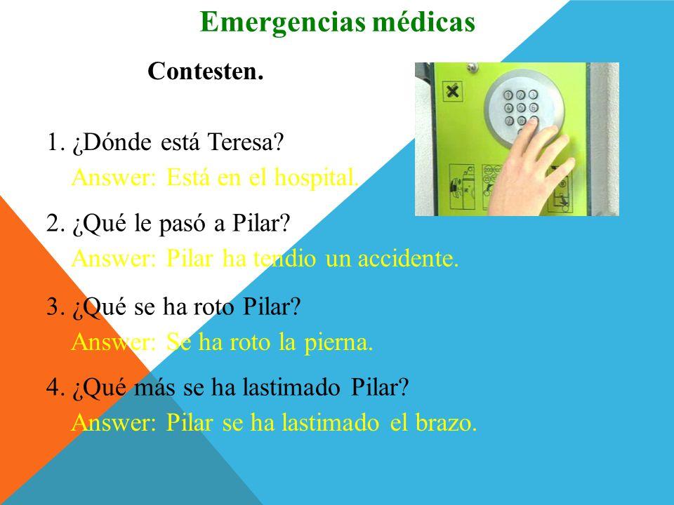 Escuchen y miren. Emergencias médicas Click image to view movie.