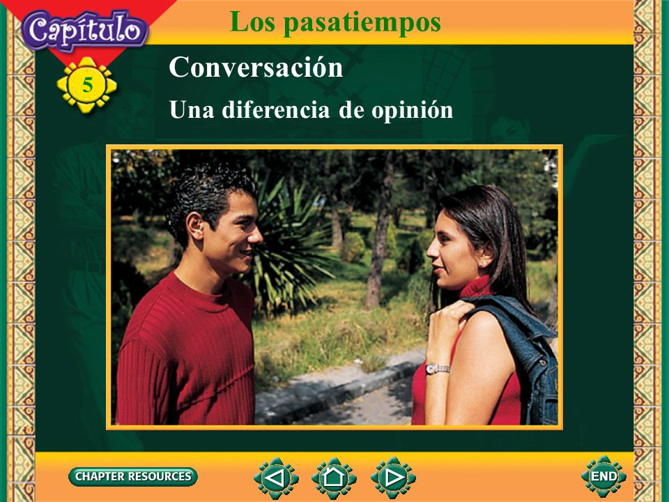 5 1.Cristina le enseñará a Luis cómo jugar voleibol acuático. Answer: Falso. Luis le enseñará a Cristina, cómo jugar voleibol acuático. ¿Verdad o fals