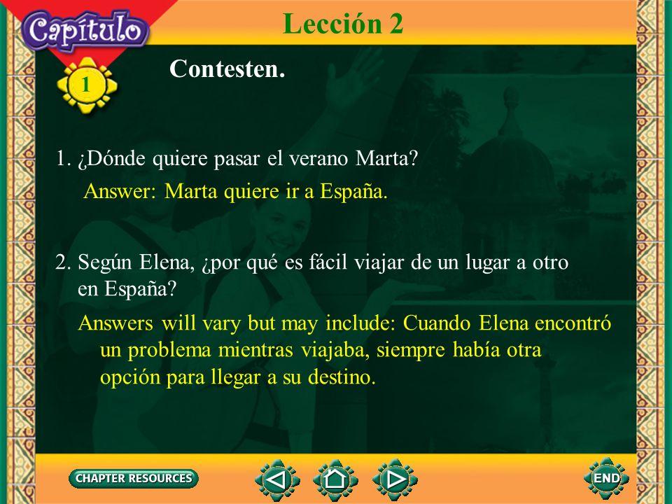 11 Conversación Marta Sí, leí que Fernando e Isabel lo establecieron en 1501 como una venta y hospital para los peregrinos. Hoy es un parador del gobi