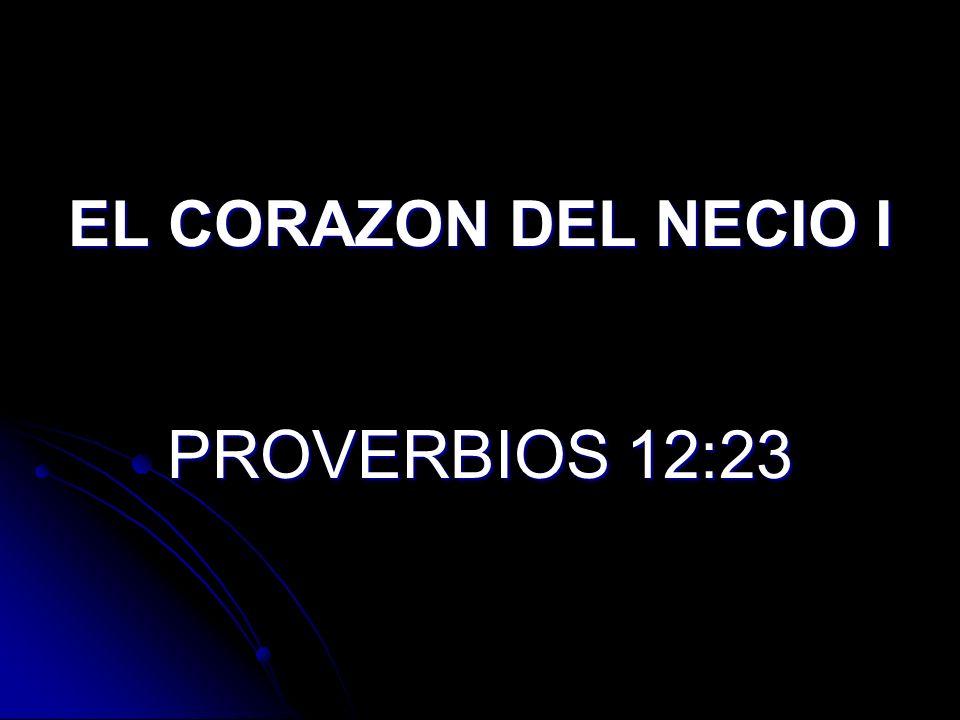 Proverbios 12:23 Proverbios 12:23 (LBLA) El hombre prudente oculta su conocimiento, pero el corazón de los necios proclama su necedad.