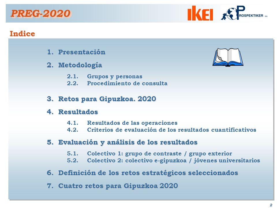 2 Indice PREG-2020PREG-2020 1.