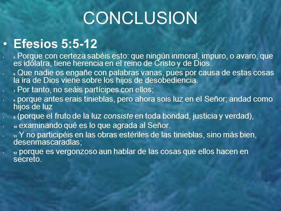CONCLUSION 1a.