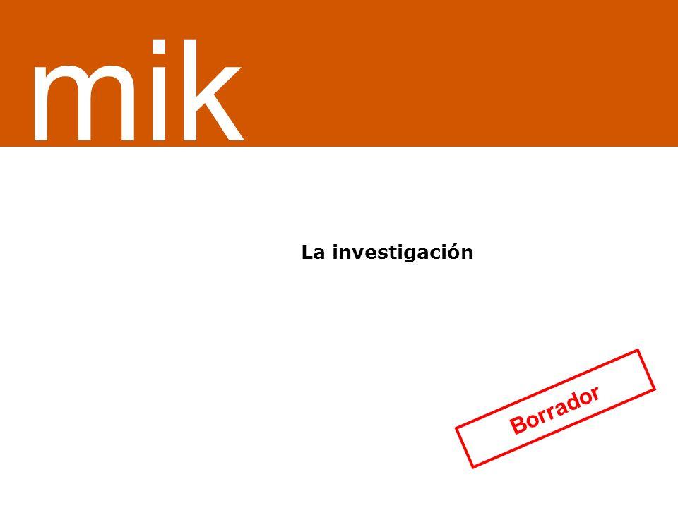¿Servicio o sistema de información La investigación mik Borrador