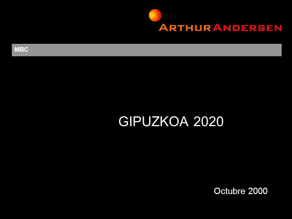 La adecuada comprensión de este documento requiere de los comentarios formales que acompañan a su presentación © 2000 Arthur Andersen All rights reserved.