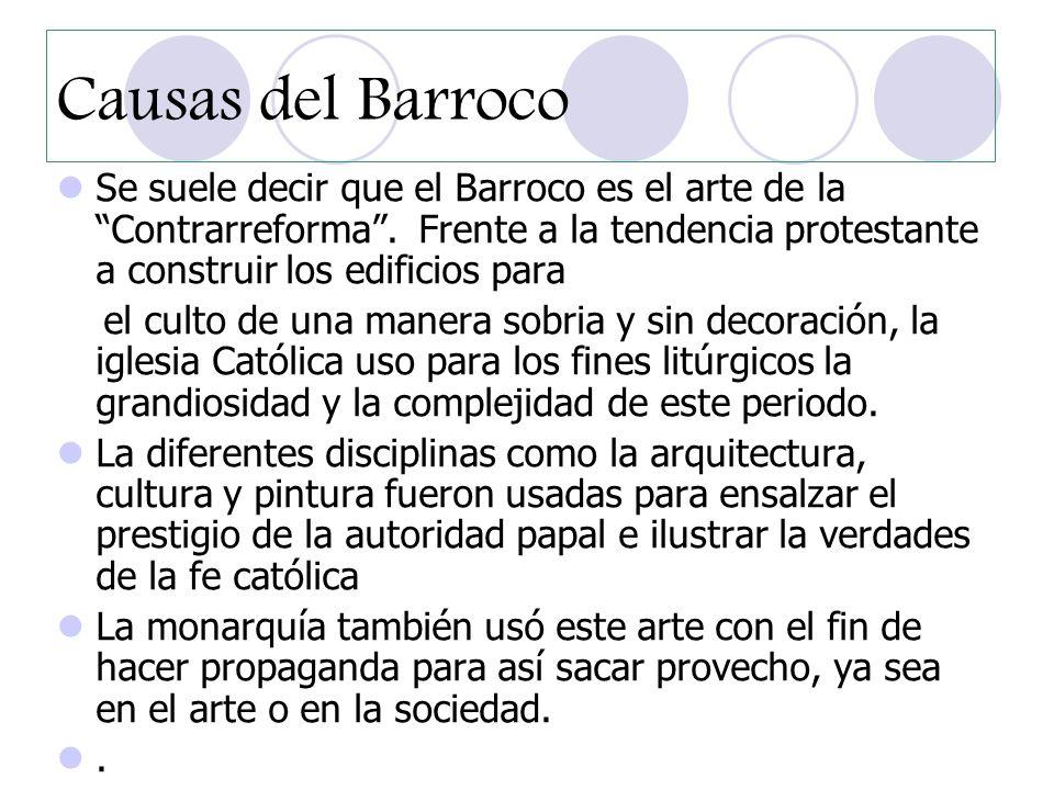 La burguesía también utilizó el Barroco para expresar sus ideas y trascender más allá de su época.