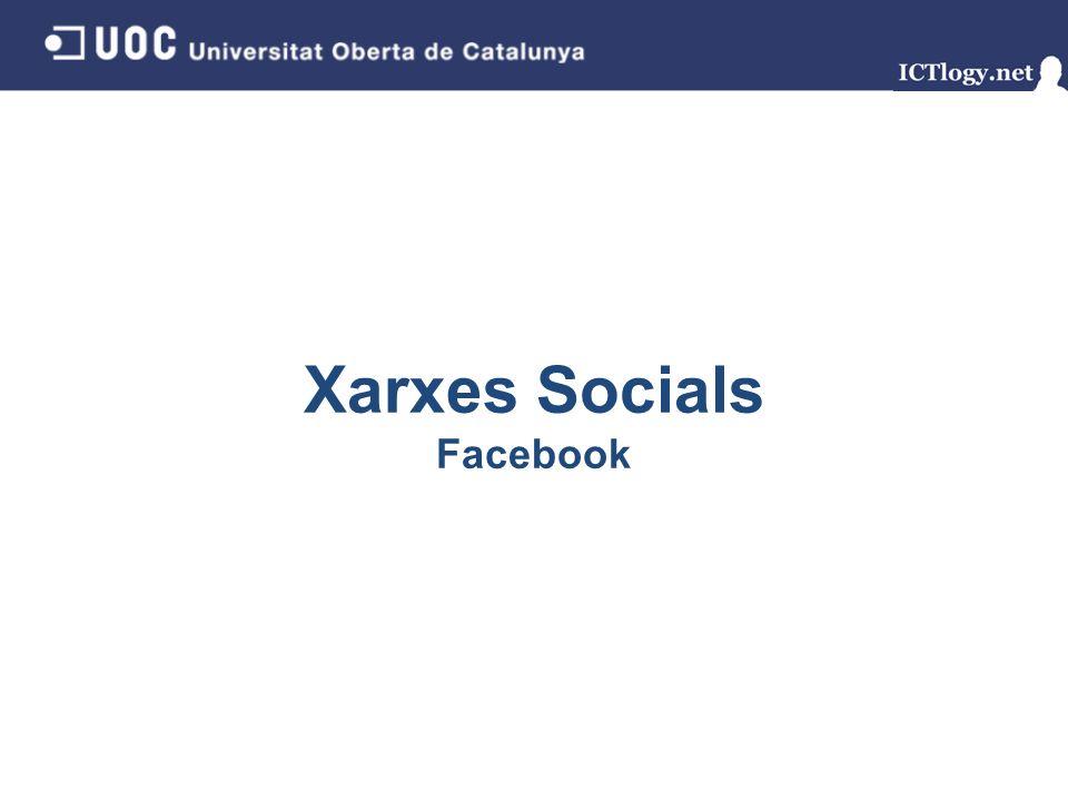 Xarxes Socials Facebook